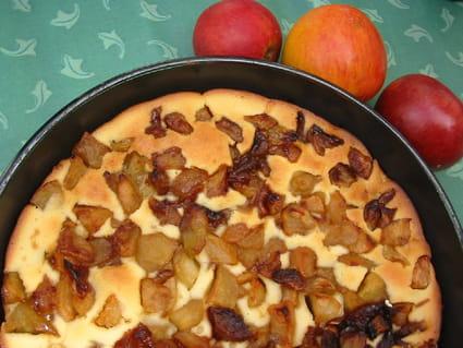 Tarte aux pommes caramélisées inratable