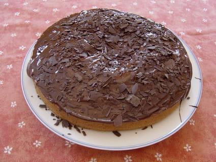 Gâteau au chocolat noir sans oeuf
