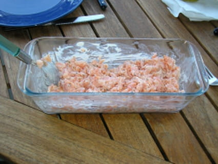 Tartare de saumon inratable