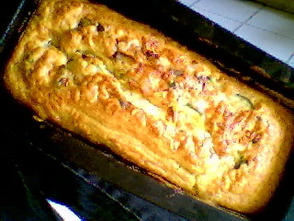 Cake chèvre-courgettes
