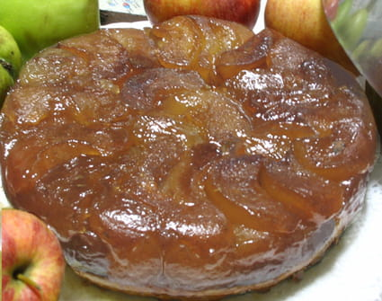 Tarte tatin authentique