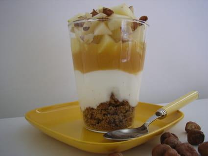 Dessert au verre facile