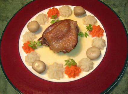 Recette de coq la bi re et au geni vre la recette facile - Cuisson oeuf a la coq ...