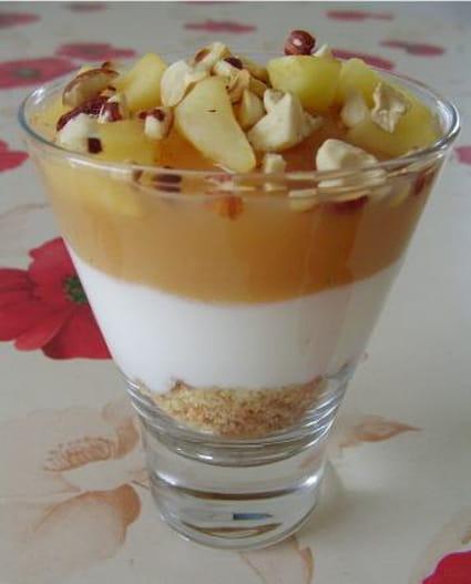 Dessert en coupe express
