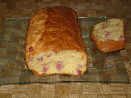 Cake au jambon