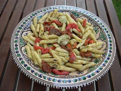Salade de pâtes au pistou