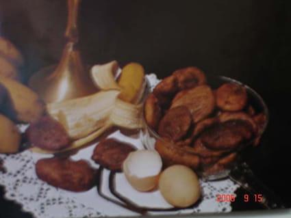 Beignets de banane de la Réunion