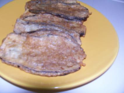 Aubergines frites (à la foudjatelle)