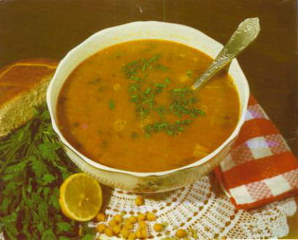 Soupe au vermicelle