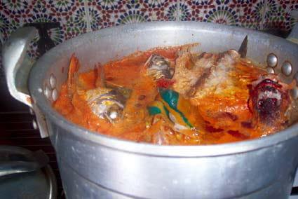 Soupe de poisson express