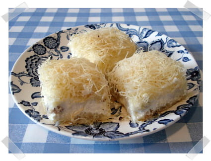 Cheesecake version orientale
