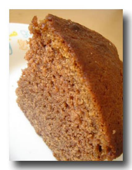 Cake au chocolat et pépites de chocolat