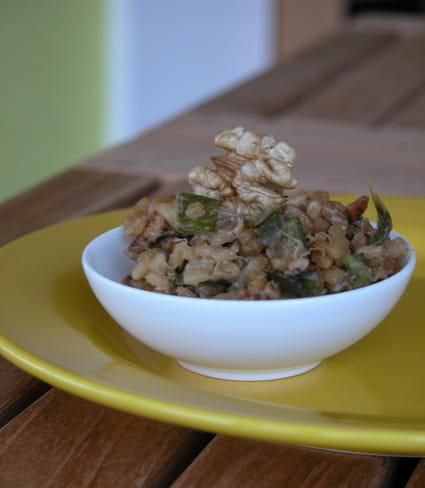 recette de risotto cr meux de courgettes et parmesan la recette facile. Black Bedroom Furniture Sets. Home Design Ideas
