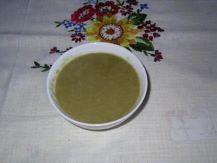 Crème de poireaux