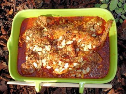 Tajine de lapin aux tomates