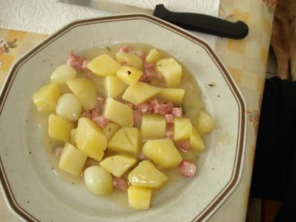 Pommes de terre en ragoût
