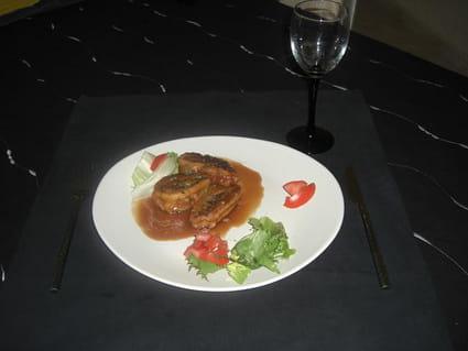 Escargot de viande hachée