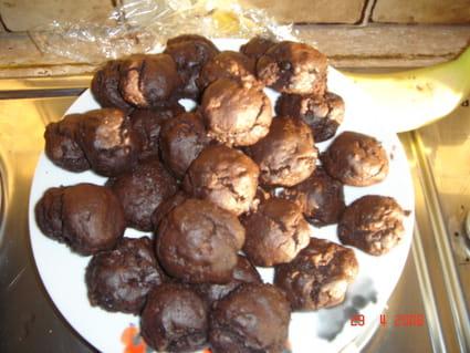 Choux au chocolat