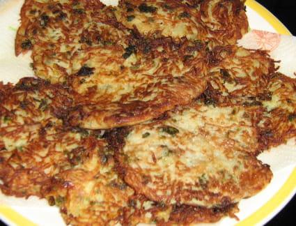 Galettes de pommes de terre alsacienne
