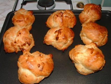 Pommes dauphines en pâte à choux