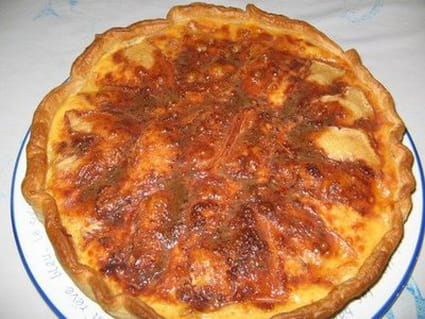 Quiche au reblochon