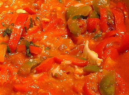 Piperade basque traditionnelle