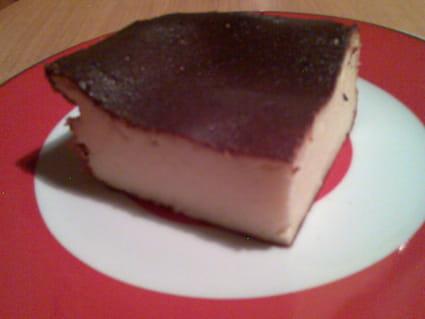 Gâteau au fromage blanc sans pâte et sans sel