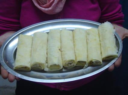 Boureks aux pommes de terre et au fromage