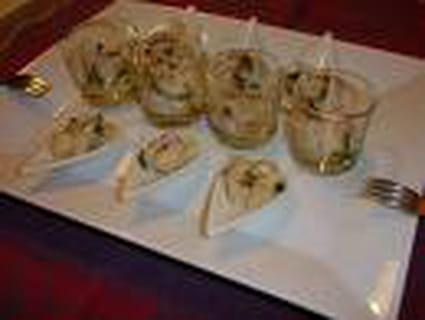 Carpaccio de coquilles Saint Jacques