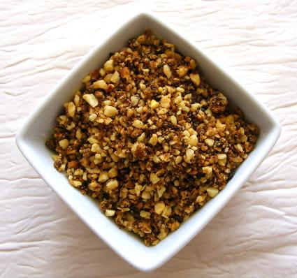 Pralin maison au petit goût de pistache