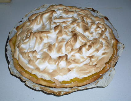Recette de tarte au citron meringu e inratable la recette facile - Recette tarte citron meringuee facile ...