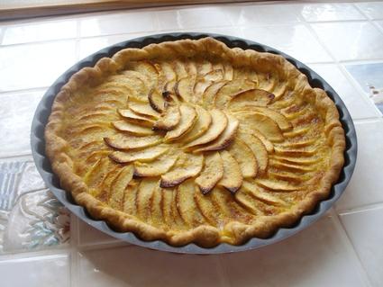 Tarte vergeoise aux pommes