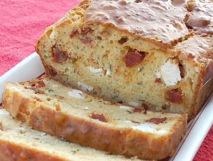 Cake Tomates Sechees Gruyere Chorizo