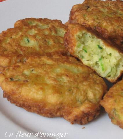 Recette de beignets aux courgettes la recette facile - La ferme aux beignets ...