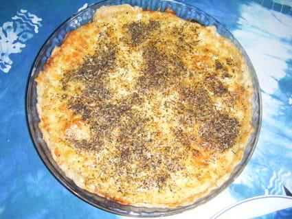 Tarte aux trois fromages simple et rapide