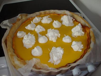 Tarte au citron sans beurre ni crème