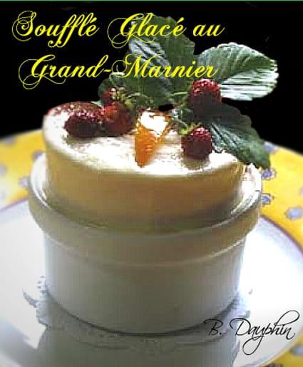Soufflé glacé au Grand-Marnier