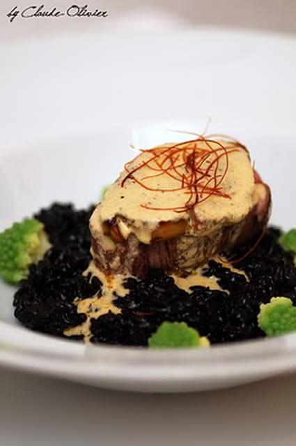 Recette de filet de b uf angus sauce au foie gras la - Cuisiner le foie de boeuf ...