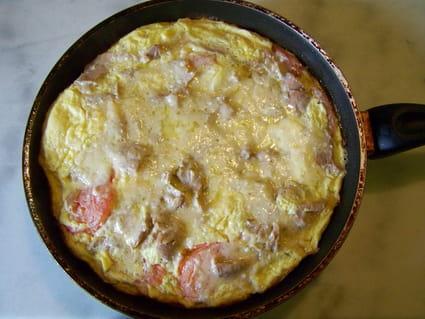 Omelette soufflée surprise