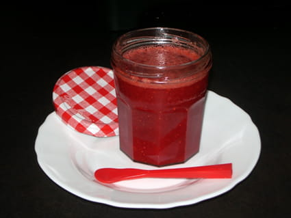 Confiture de fraises sans cuisson