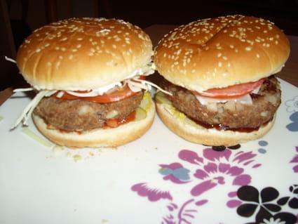 Hamburger spécial light
