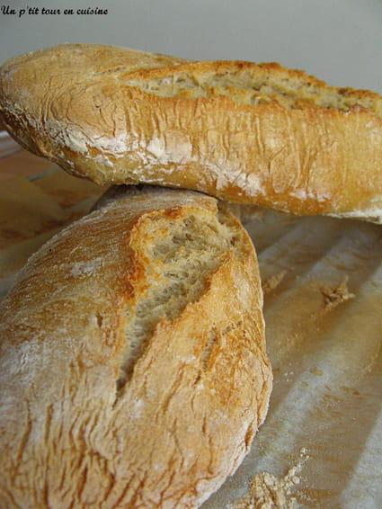 Recette de baguettes maison la recette facile for Baguettes de pain maison