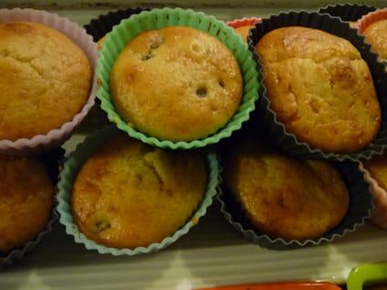Muffins aux pruneaux