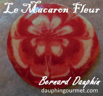 Macarons fleurs ou marbrés