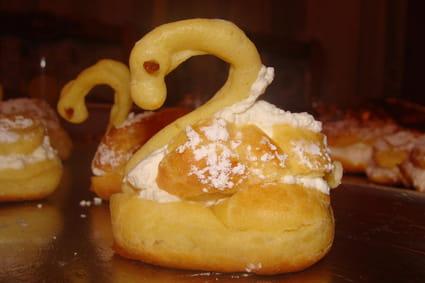 Cygnes en pâte à choux
