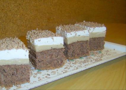Gâteau à la purée de marron et au chocolat