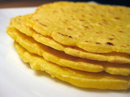 Tortillas de maïs