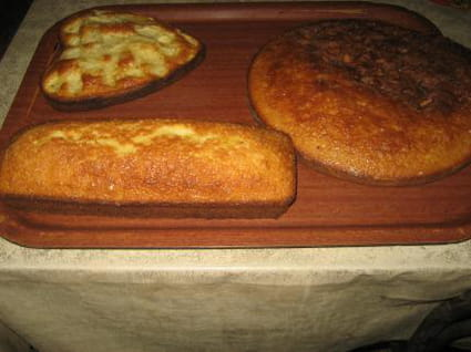 Gâteau au lait chaud