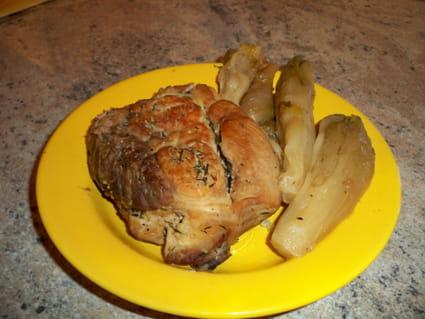 Rouelle de porc à la cocotte