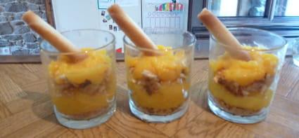 Crème de citron en verrine